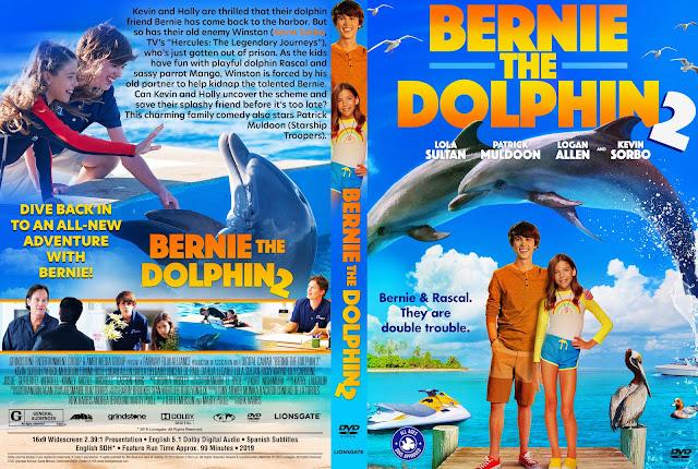 Bernie the Dolphin 2 DVD Cover