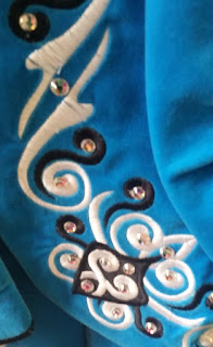 irish dance dress close up 5