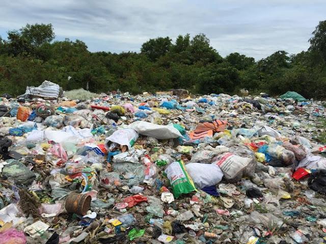 Nhức nhối ô nhiễm bãi rác