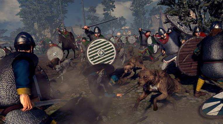 Total War Saga Thrones of Britannia pc full español