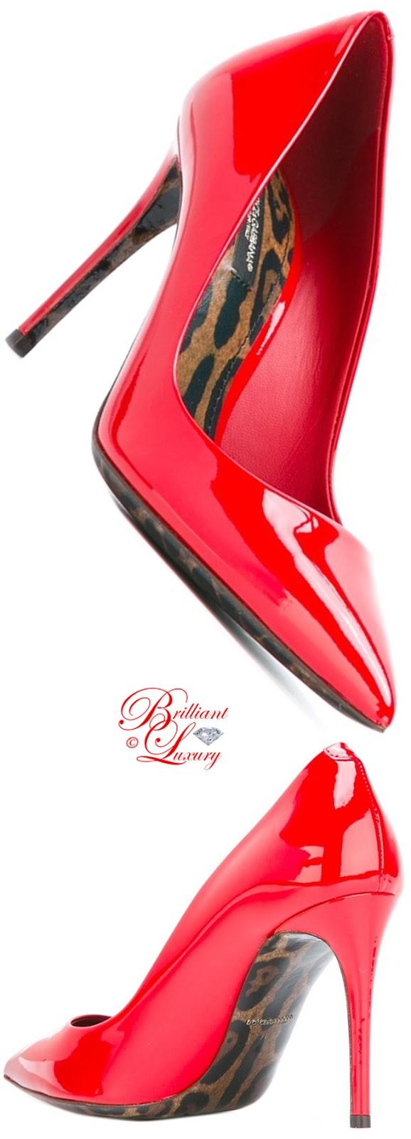 Brilliant Luxury ♦ Dolce & Gabbana Kate Pumps