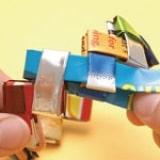 Snack Bag Chain Bracelet - Step 3