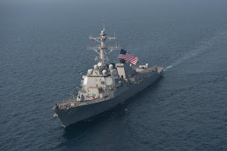 USS McCampbell DDG-85