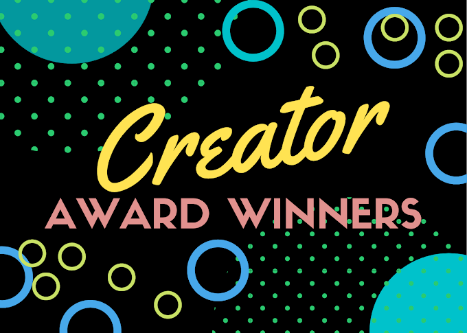 Creator Awards 2021 Prizes and Announcements