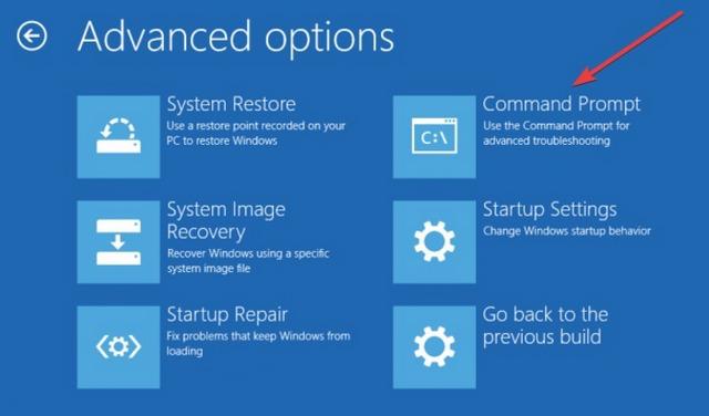 إصلاح مشكلة شاشة الموت الزرقاء وخطأ Bad System Config Info في ويندوز 10