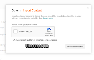 How to permanetly move from one blogspot to another 301 redirect