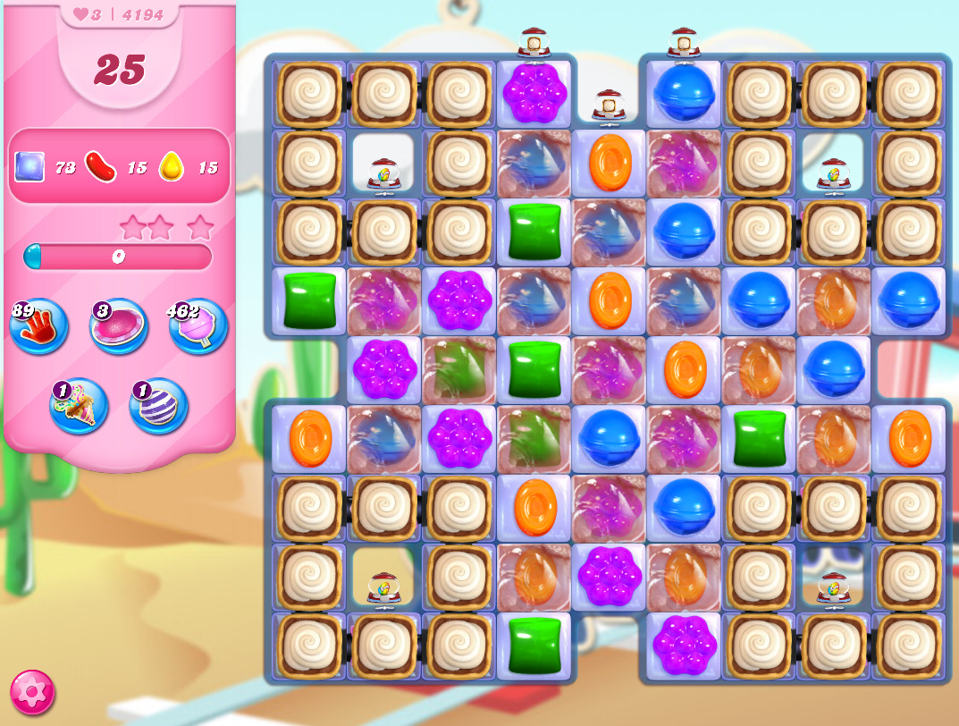 Candy Crush Saga level 4194