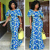 Latest Creative Aso Ebi Gown Style