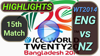ENG vs NZ 15th Match