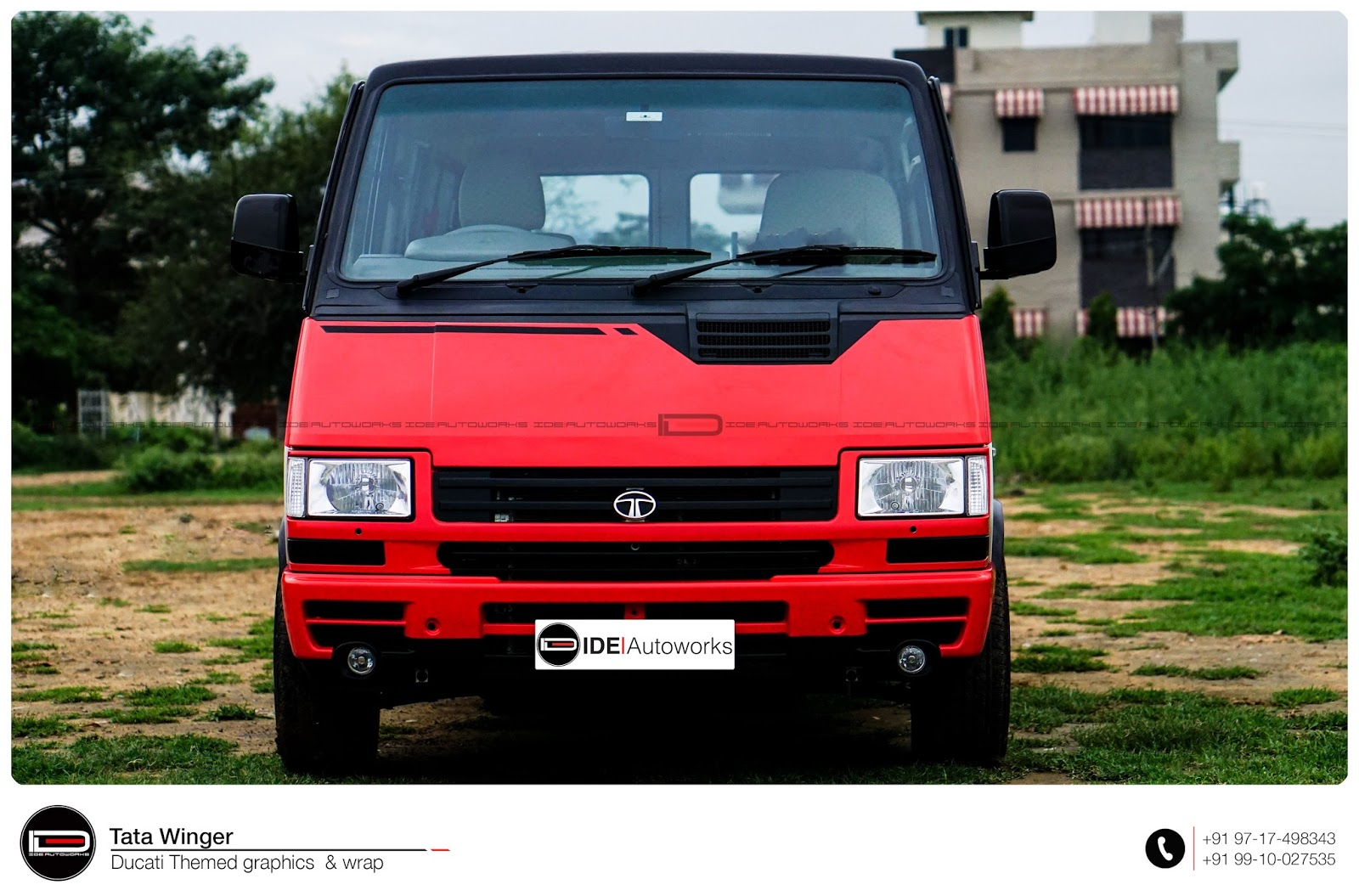 Custom Graphic Livery: Tata Winger   IDE Autoworks