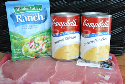 Ranch House Crock Pot Pork Chops are delicious pork chops that are slow cooked and full of ranch flavor. Life-in-the-Lofthouse.com