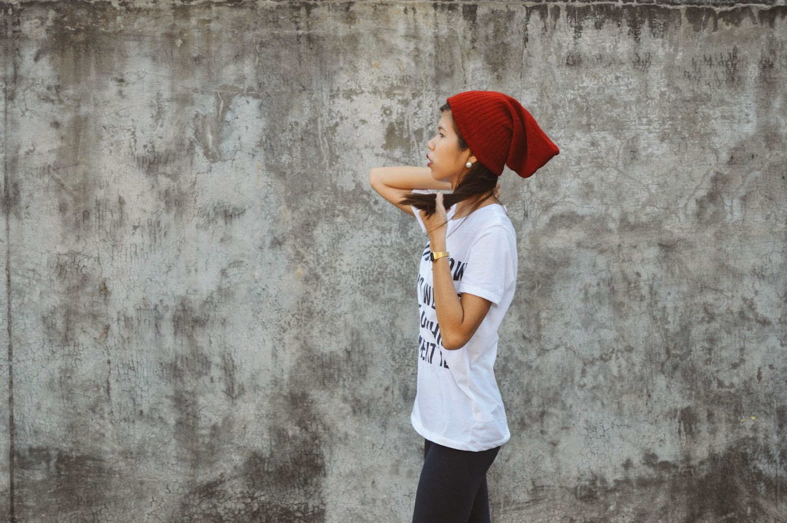 Folded and Hung, fashion blogger, style blogger, cebu blogger, cebu style blogger, blogger, filipina blogger, cebuana blogger, nested thoughts, katherine cutar, katherine anne cutar, katherineanika, katherine annika, ootd, ootd pilipinas, basic ph, basic fashion, basics, basic, basic cebu, statement tee, statement t-shirt, edgy look,
