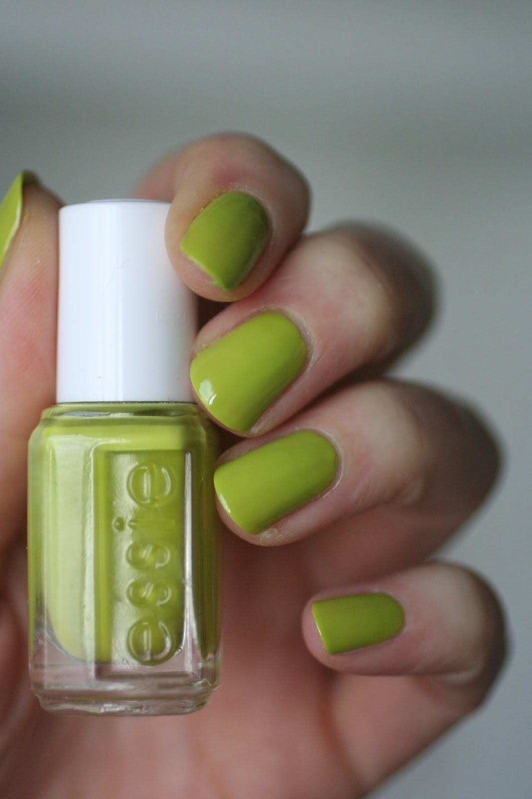 Essie Lime Green Comparison: Chillato, Navigate Her, Vibrant Vibes ...