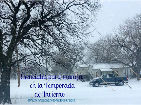 Esenciales para manejar en la temporada de Invierno #InviernoSeguro #Ad