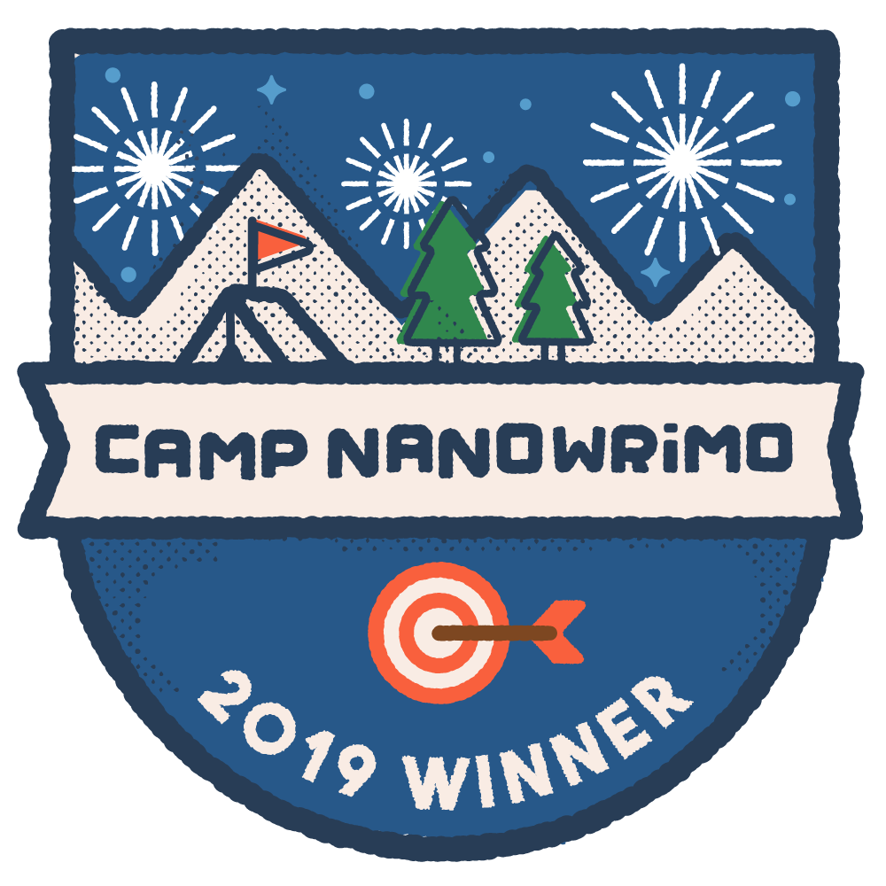 CAMP NaNo April 2019 WINNER