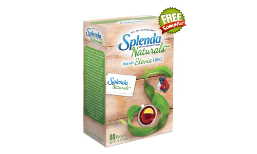 splenda free sample, splenda samples, splenda free samples