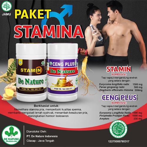 Paket Obat Stamina Pria Denature