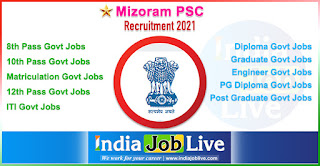 mizoram-psc-recruitment-indiajoblive.com