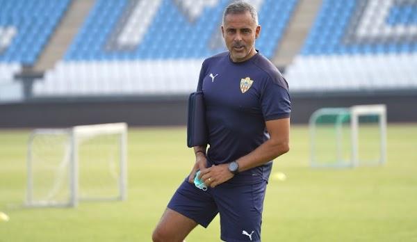 """José Gomes - Almería -: """"Pellicer está haciendo un trabajo muy bueno"""""""