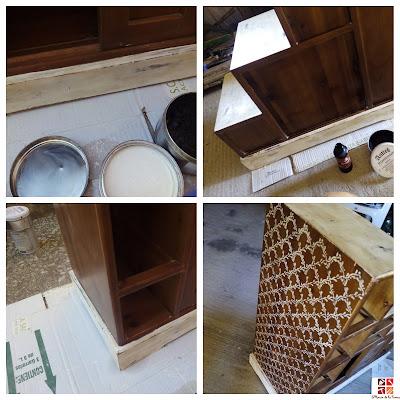 tunear un mueble escalera