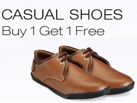 Buy any 2 Casual Shoes just for Rs.499 Only @ Yepme