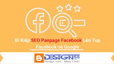 Bí Kiếp SEO Fanpage Facebook Lên Top #1 Facebook và Google