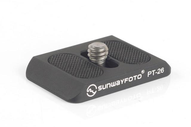 Sunwayfoto PT-26 Universal QR plate