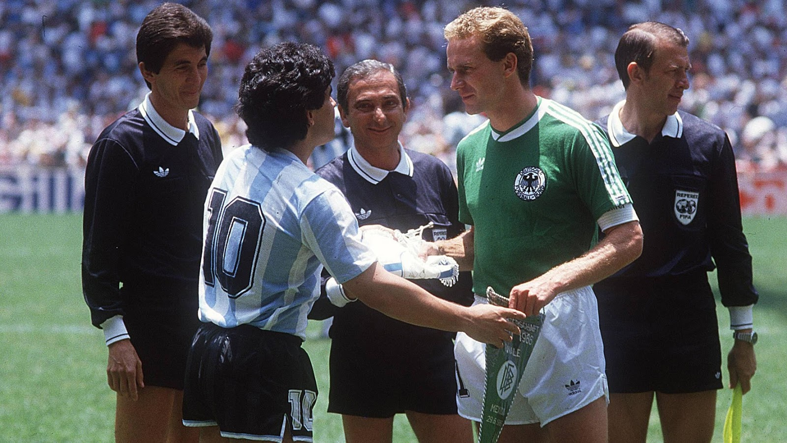 Mexico 86 argentine allemagne la finale the vintage - Finale coupe du monde 1986 ...