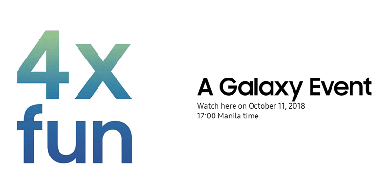 "Samsung to launch a new Galaxy device with ""4x fun"" on October 11"