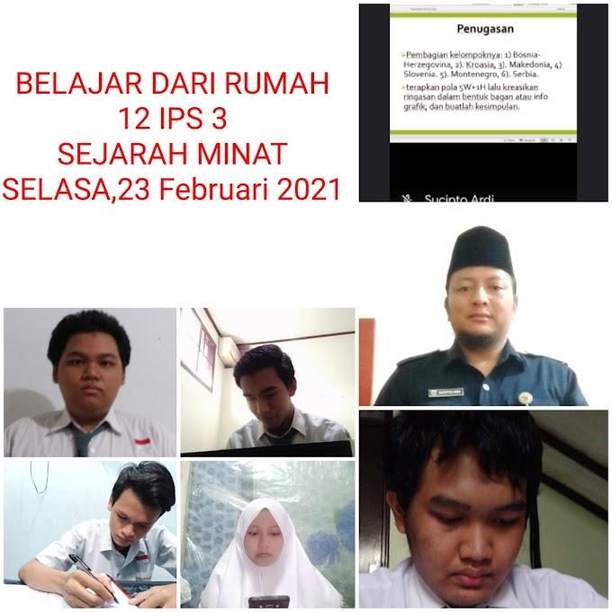 Sejarah 12 IPS 3 (9 Maret 2021)