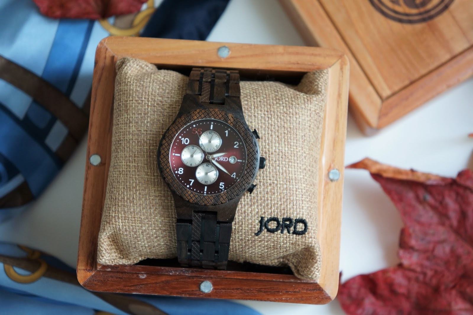 JORD dark sandalwood men's wooden watch