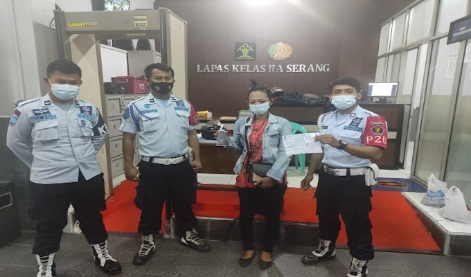 Penyelundupan Handphone ke LP untuk Napi, Berhasil Digagalkan Petugas Lapas