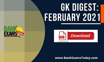 GK Digest February 2021 - Download PDF