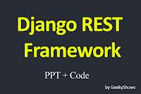 Django REST Framework Study Material