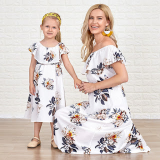Popopieshop pasujące sukienki