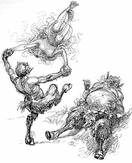 Heinrich Kley, dancing myth