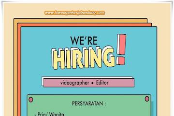 Lowongan Kerja Videographer & Editor di Bandung