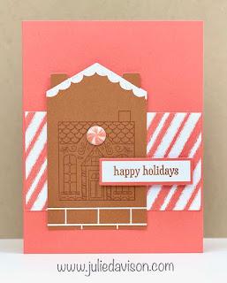November 2020 Jolly Gingerbread Paper Pumpkin Alternative Projects + Video ~ www.juliedavison.com #paperpumpkin #stampinup