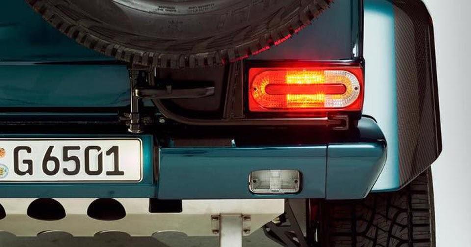 Mercedes-Benz Teases G65 AMG 4x4² V12 Convertible