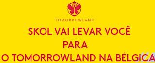 Cadastrar Promoção Skol Te Leva Tmorrowland 2017 Bélgica