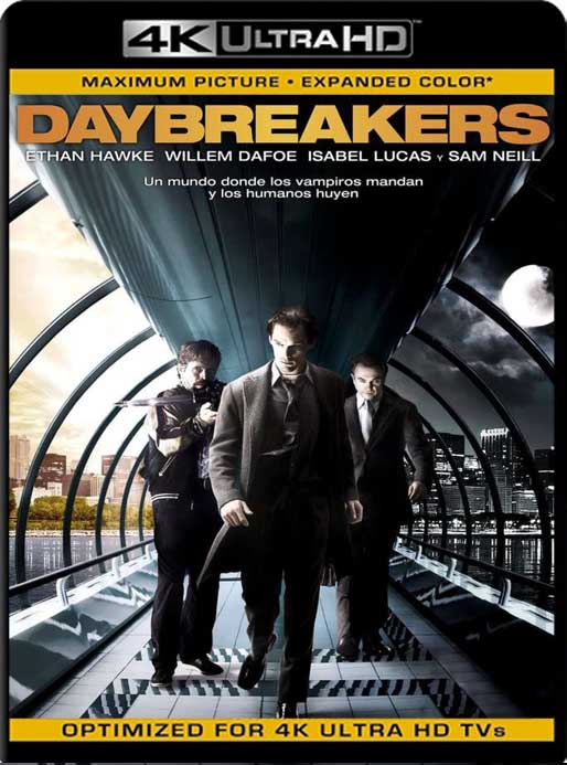 Daybreakers (2009) 4K 2160p UHD [HDR] Latino [GoogleDrive]
