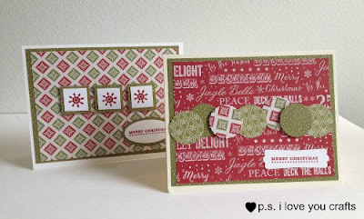 These Homemade Christmas Cards are easy to make with just a few supplies and tools.