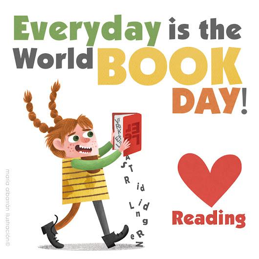 ilustracion leeer / reading illustration