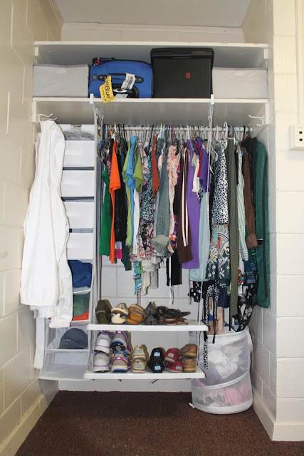 Home My Furniture: Small Bedroom Closet Organization Ideas