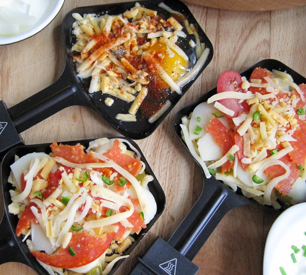 Raclette Melting Pans
