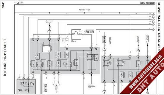 Lexus Lx470 2007 Wiring Diagram