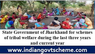 schemes of tribal welfare