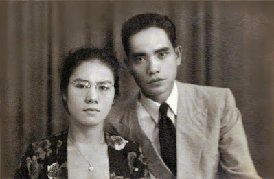 Almarhum DI Pandjaitan & Istri