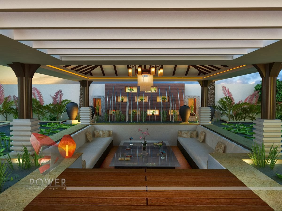 House 3D Interior Exterior Design Rendering | Modern Home ...