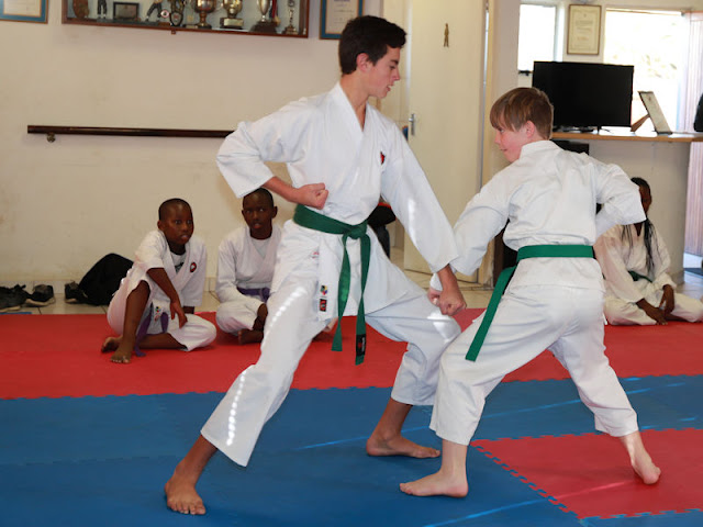 Self-defense karate classes (Kempton Park) Shorei Martial Arts.